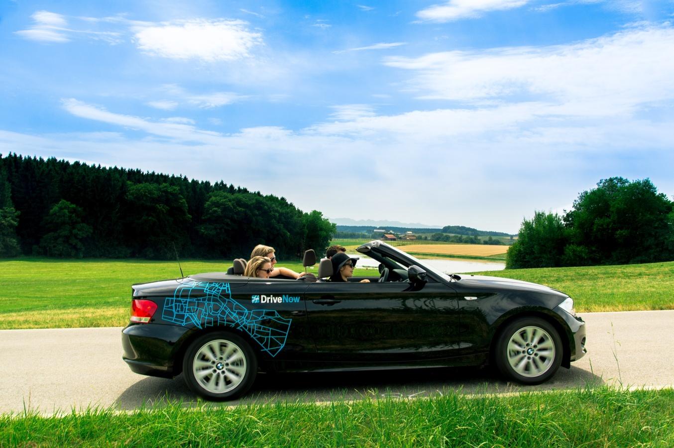 bmw 1er cabrio ab sofort bei drivenow drivenow gutschein. Black Bedroom Furniture Sets. Home Design Ideas