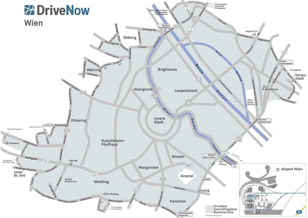 DriveNow-Wien_Geschaeftsgebiet