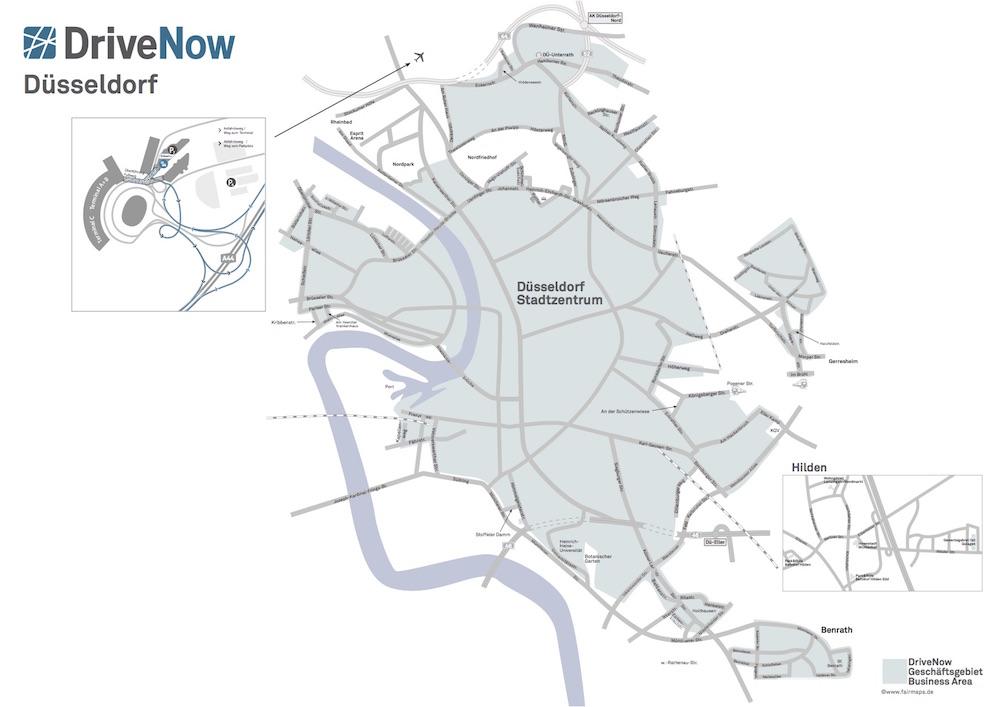DriveNow-Duesseldorf-Geschaeftsgebiet