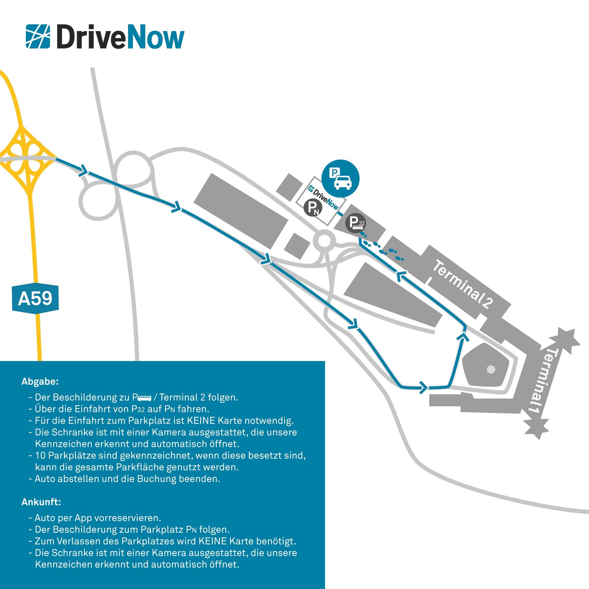 Drivenow Köln Gebiet
