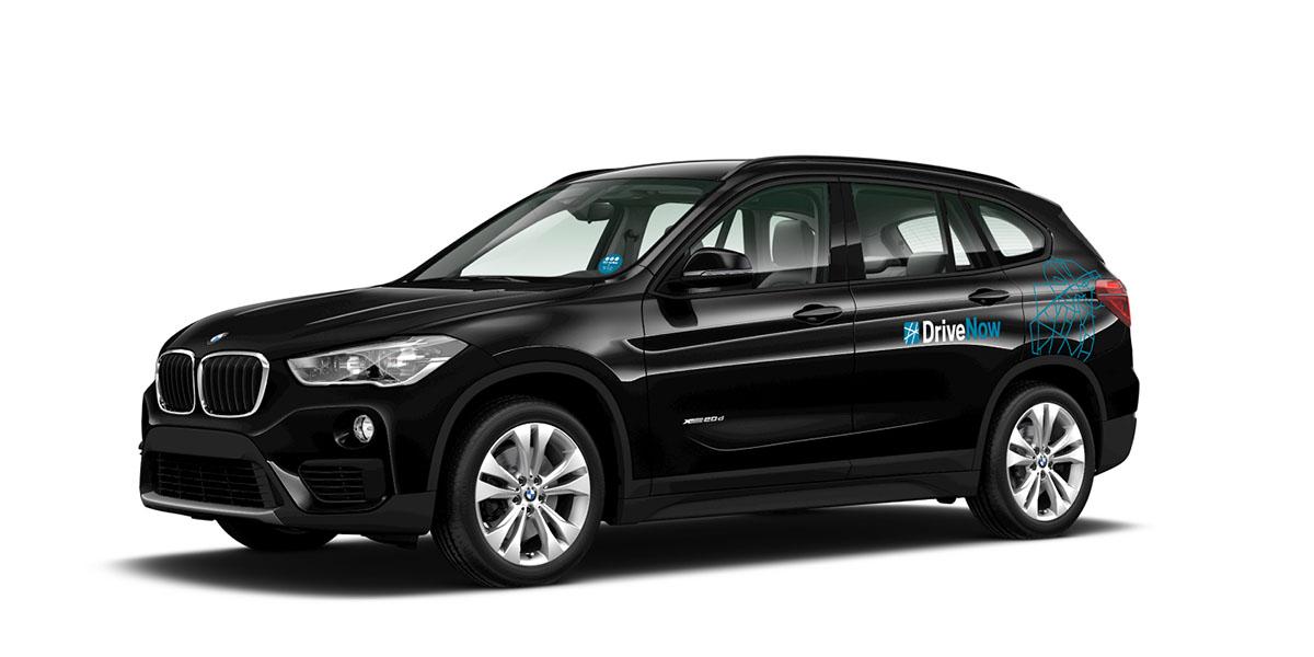 BMW X1 von DriveNow