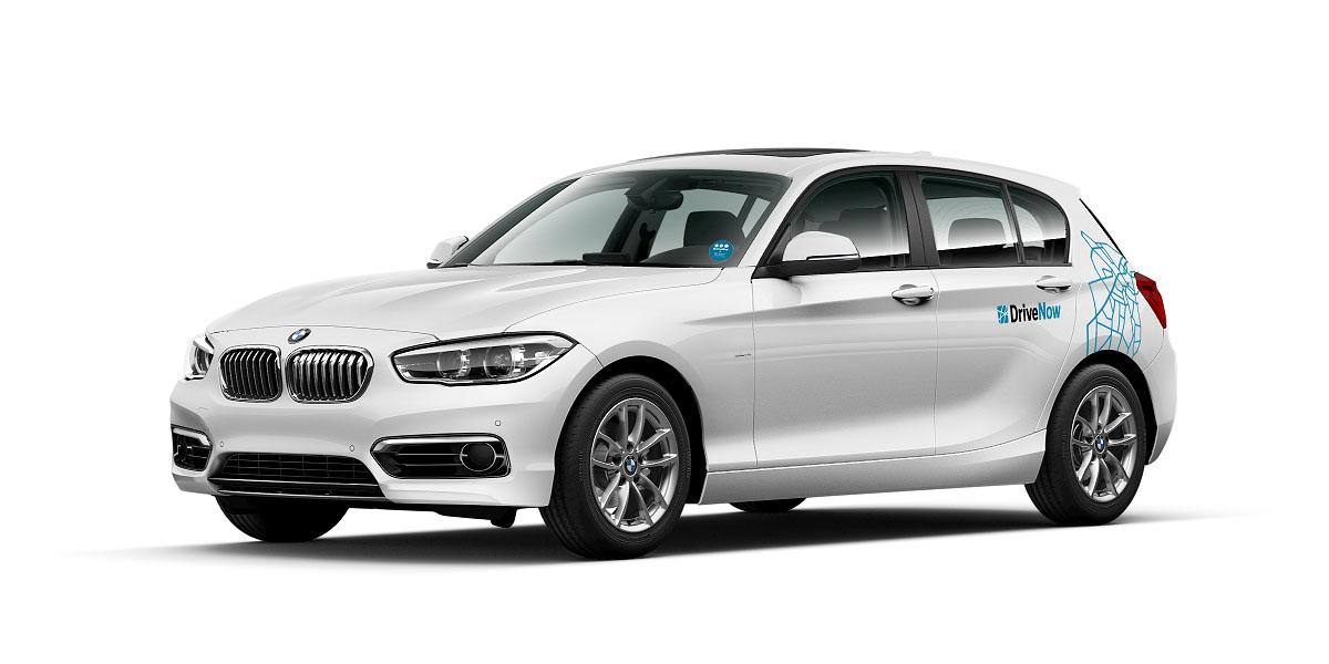 BMW 1er von DriveNow